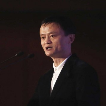 Alibaba Group Executive Chairman Jack Ma addresses a gathering at an event organised by FICCI in New Delhi