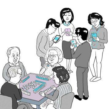Mahjong's losing the phoney war